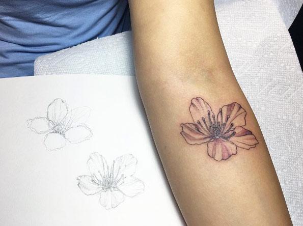 cherry-blossom-forearm-tattoo-1