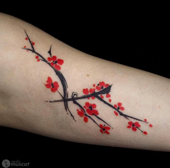 cherry-blossomt-tattoo