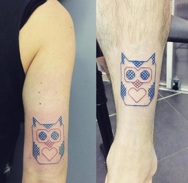 cross-stitch-owl-tattoo