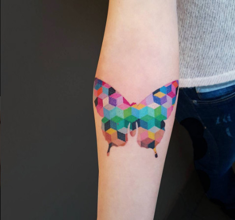 geometric-butterfly-tattoo