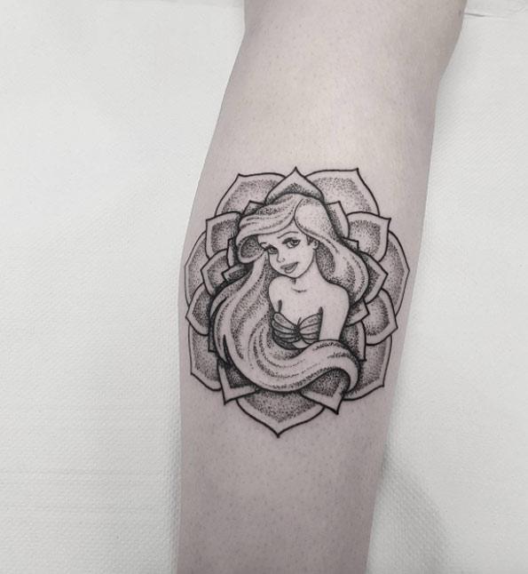 little-mermaid-tattoo