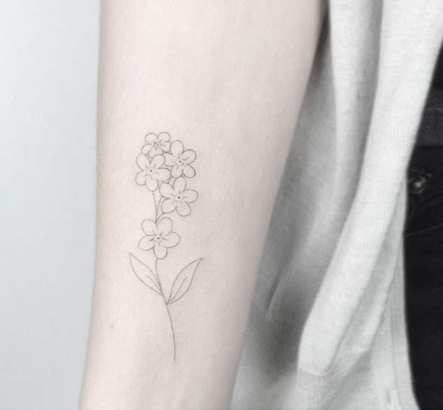 minimal-flower-tat