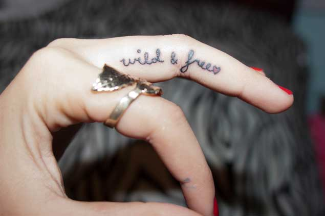 quote-finger-tattoo
