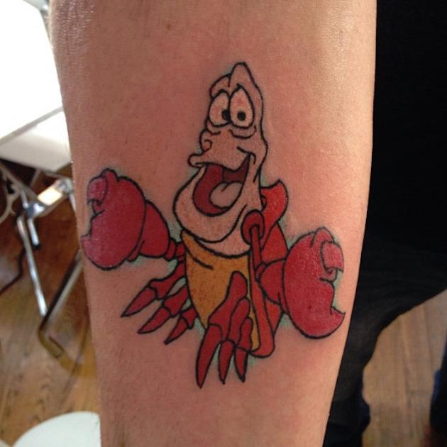 sebasitan-little-mermaid-lobster-tattoo