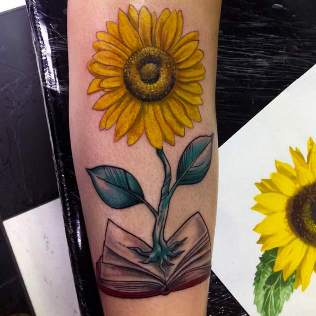 sunflower-tattoo-design-16