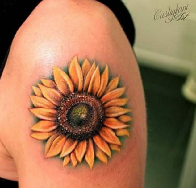 sunflower-tattoo-design-2