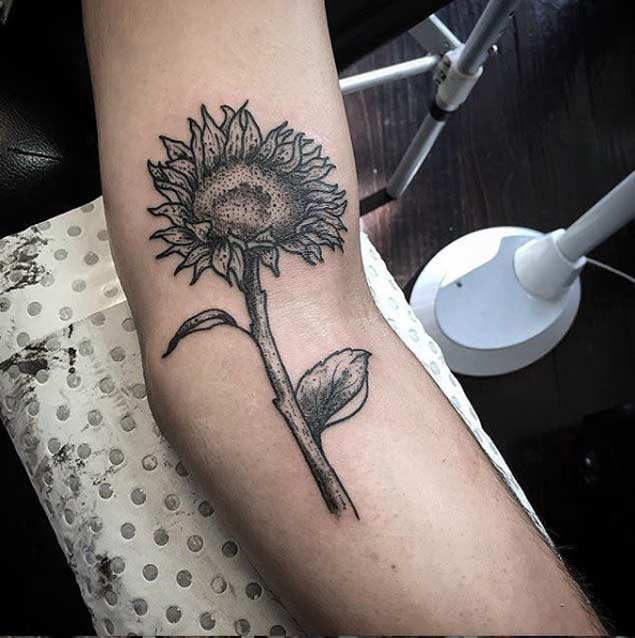 sunflower-tattoo-design-27