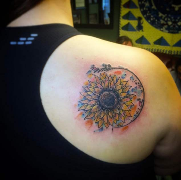 sunflower-tattoo-design-28