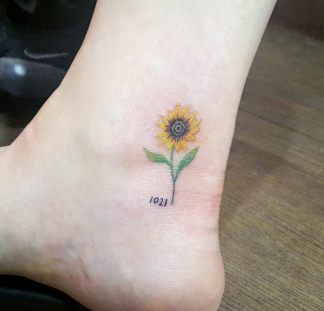 sunflower-tattoo-design-4
