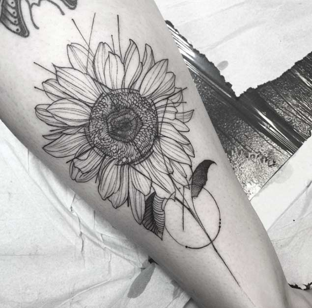 sunflower-tattoo-design-7-e1455639942319