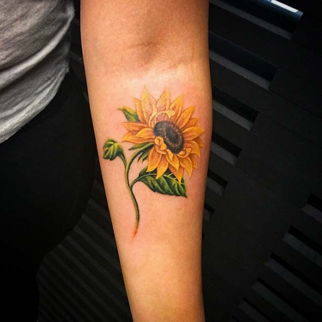 sunflower-tattoo-design-8