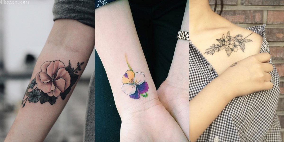 Tatuaggi floreali, tanti nuovi modelli da guardare e da copiare!