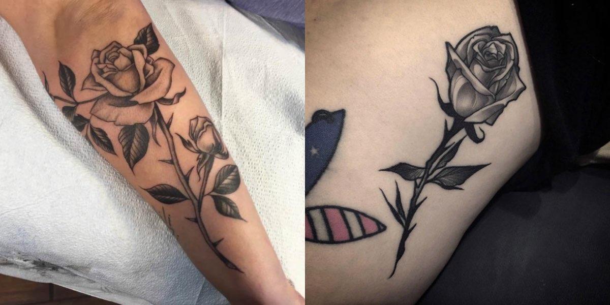 Per moltissime donne il tatuaggio con la rosa nera non rappresenta  certamente un simbolo da mostrare con i migliori auspici, ma in realtà il tattoo  con la