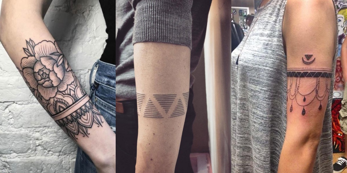 Eccezionale Tatuaggi con le bande sull'avambraccio: foto e significati! RV92