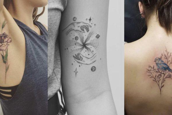 tatuaggi piccoli e moderni