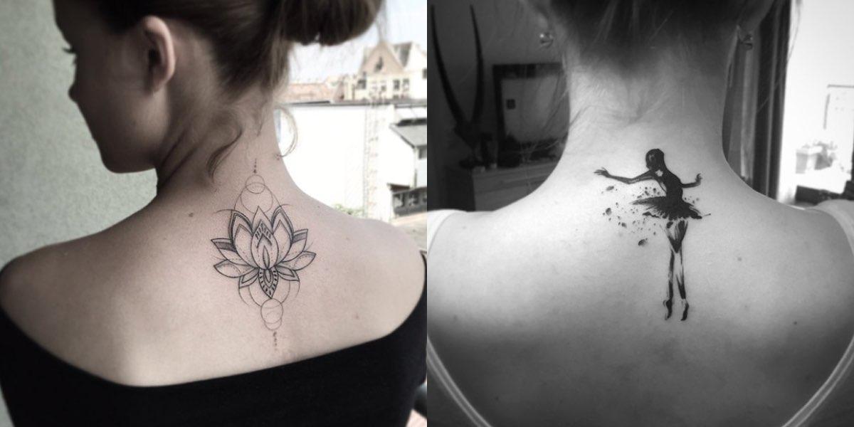 Tatuaggi sul collo e sulla nuca, nuove idee da cui prendere spunto.