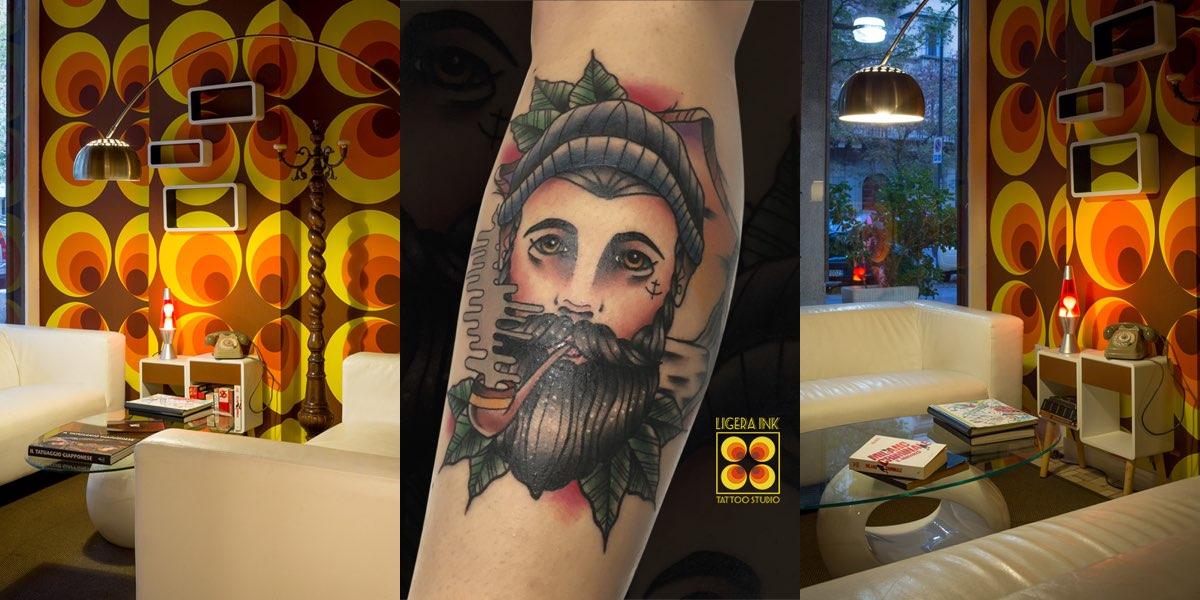 Ligera Ink Tattoo Studio: un salto negli anni '70