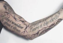 tatuaggi filo spinato