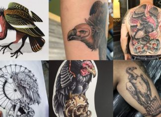 Tatuaggio avvoltoio