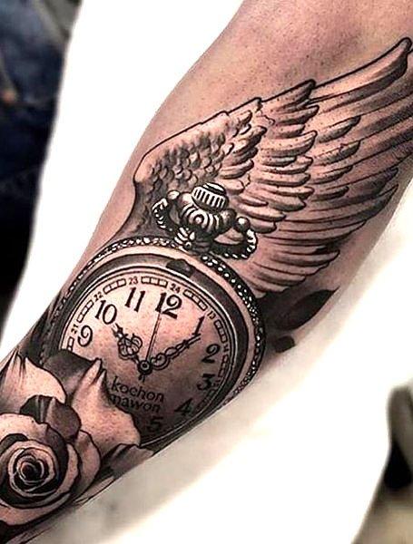 20 Tatuaggi Maschili Con Le Ali D Angelo Tatuaggistyle It